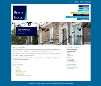 BeattyHealy_WebsiteDesign